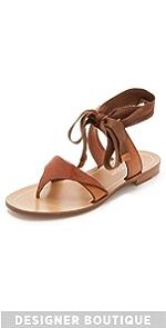 Tie Up Sandals                Sarah Flint