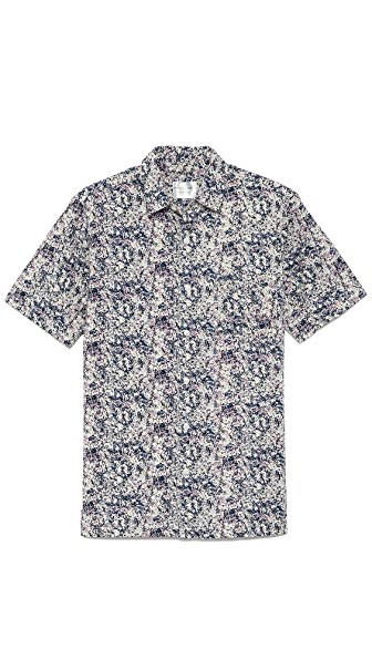 Shades of Grey by Micah Cohen Short Sleeve Vacation Shirt