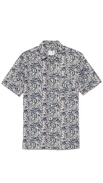 Shades of Grey by Micah Cohen Short Sleeve Vacation Shirt