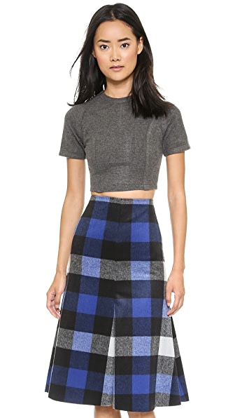 Shades of Grey by Micah Cohen Crop Top