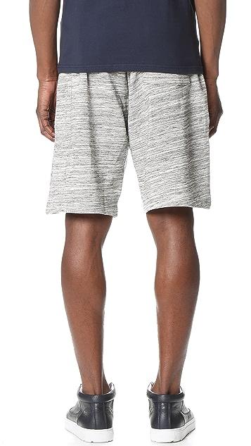 Shades of Grey by Micah Cohen Sport Shorts
