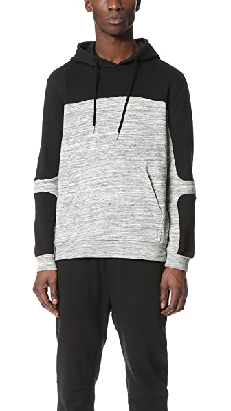 Shades of Grey by Micah Cohen Hooded Pullover Sweatshirt