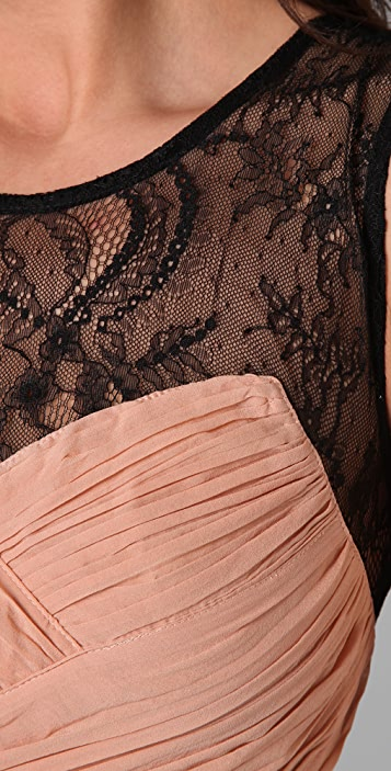 Shakuhachi Bandage Lace Back Dress