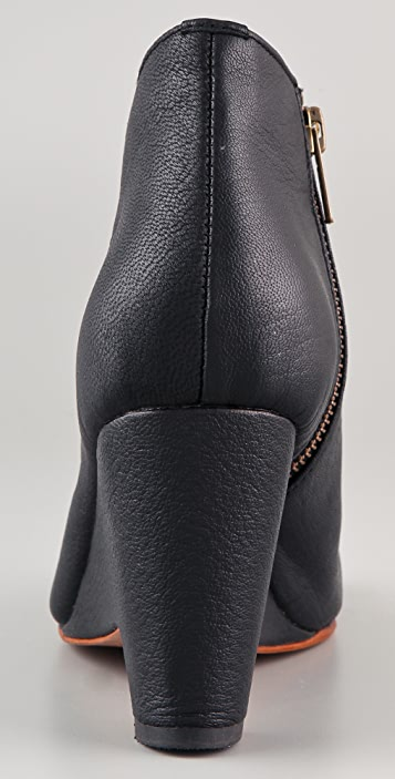 Shakuhachi Animal Ankle Booties