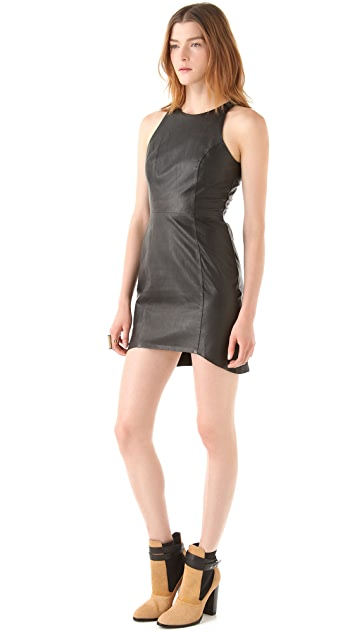 Shakuhachi Leathergoods Shift Dress