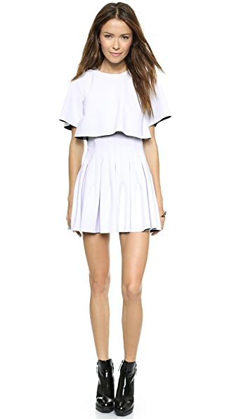 Shakuhachi Future Minimal Pleated Dress