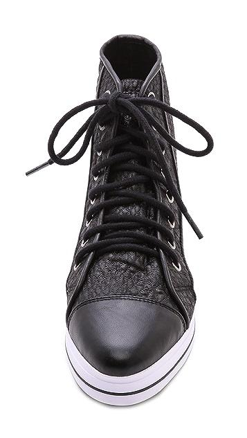 Shakuhachi Reptilian High Top Sneakers
