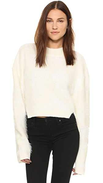 Shakuhachi Fluff Sweater