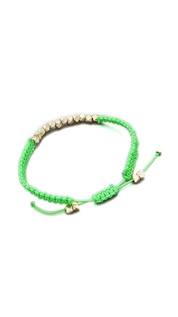 Shashi Neon Nugget Bracelet