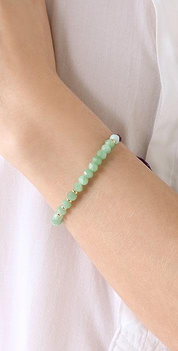 Shashi Rachel Gemstone Bracelet