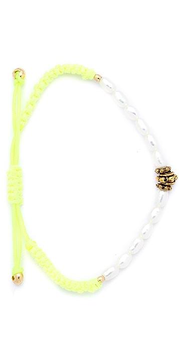 Shashi Noor Pearl Bracelet