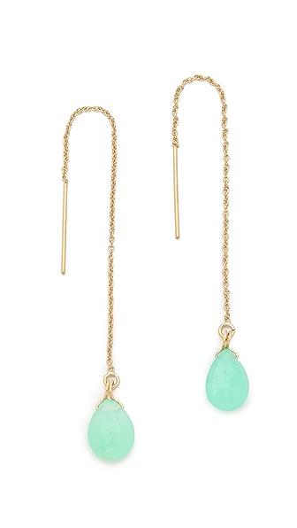 Shashi Gemstone Drop Earrings