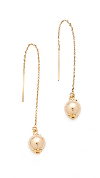 Shashi Small Dakota Ball Drop Earrings