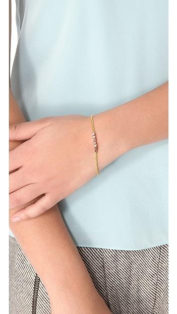 Shashi Nugget Chain Bracelet