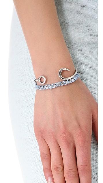 Shashi Sarah White Nugget Bracelet
