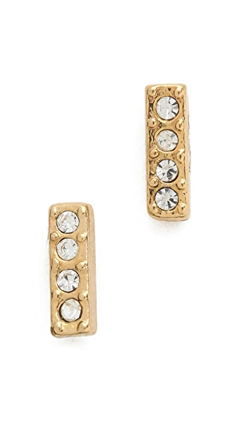Shashi Bar Stud Earrings