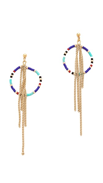Shashi Tribal Chain Earrings