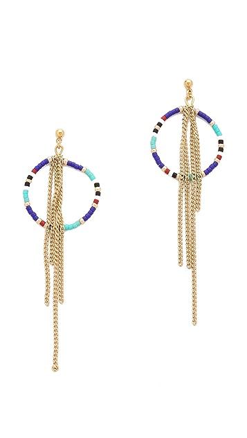 Shashi Tribal Chain Earrings