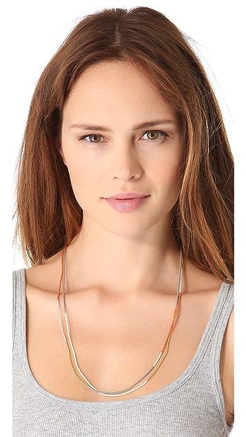 Shashi Carlita Tassel Necklace
