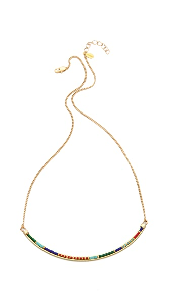 Shashi Carlita Bar Necklace