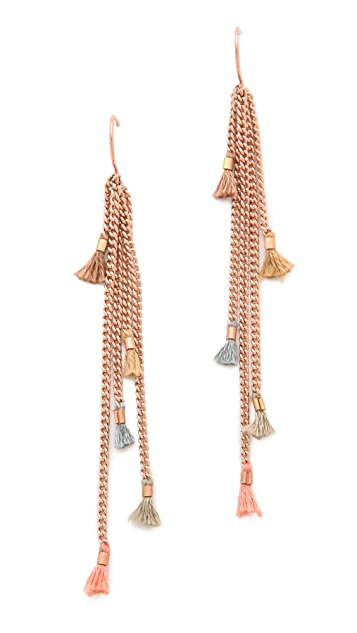 Shashi Lilu Chain Earrings