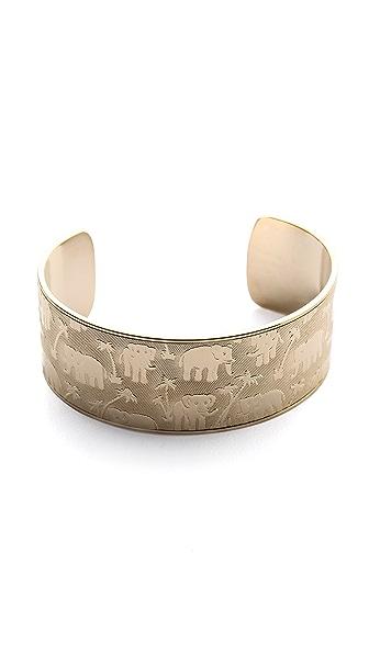 Shashi Elephant Cuff Bracelet