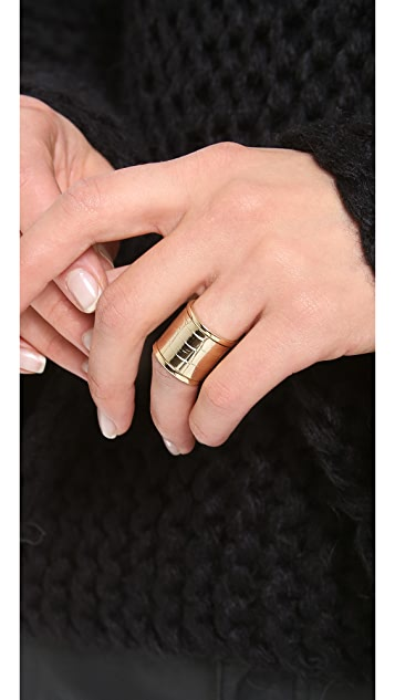 Shashi Crocodile Ring