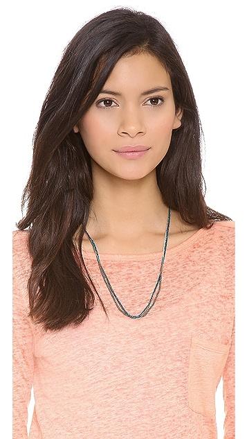 Shashi Maya Gemstone Bead Necklace