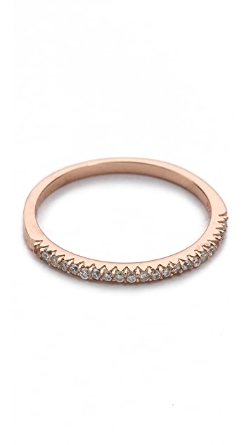 Shashi CZ Bar Ring