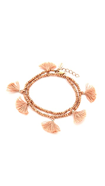 Shashi Laila Wrap Bracelet