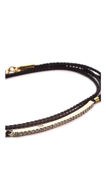 Shashi Bar Wrap Bracelet