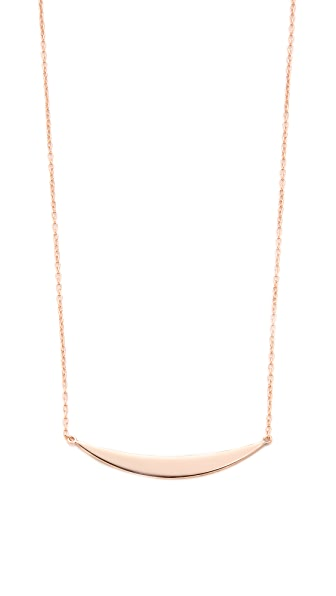 Shashi Half Moon Necklace