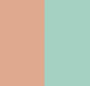 Rose Gold/Teal