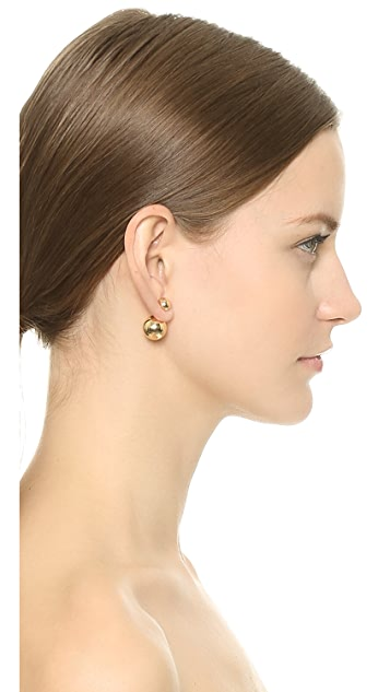 Shashi Double Ball Stud Earrings