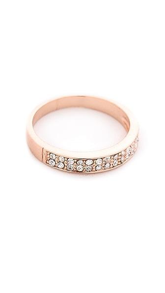 Shashi Tracy Eternity Band Ring