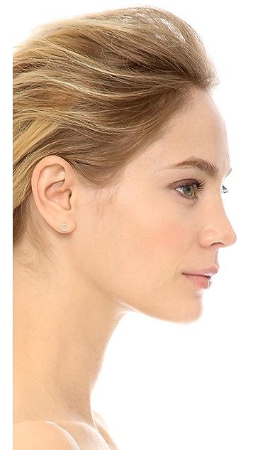 Shashi Open Circle Stud Earrings