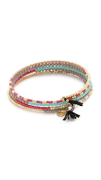 Shashi Jane Wrap Bracelet