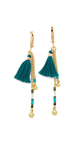 Shashi Lilu Ball Drop Earrings