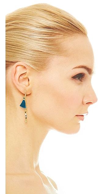 Shashi Lilu Ball Drop Earrings