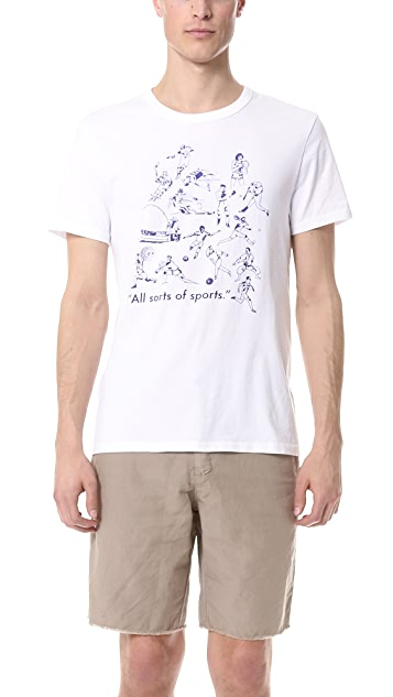 S&H Athletics Johnson Athletes T-Shirt