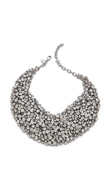 Shay Crystal Bib Necklace