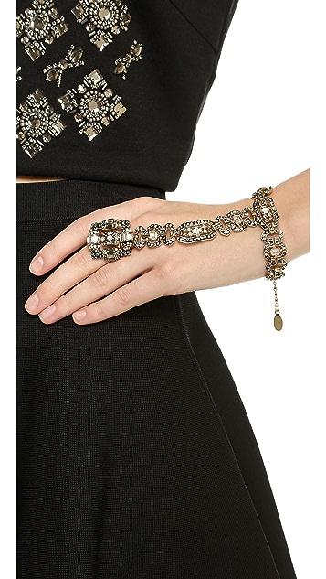 Shay Crystal Hand Chain