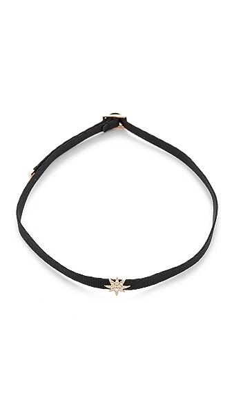 Shay 14k Gold Mini Starburst Choker Necklace