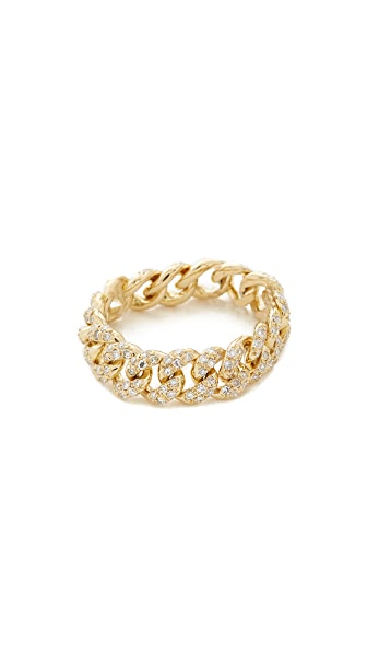 Shay 14k Gold Essential Link Ring - Yellow Gold