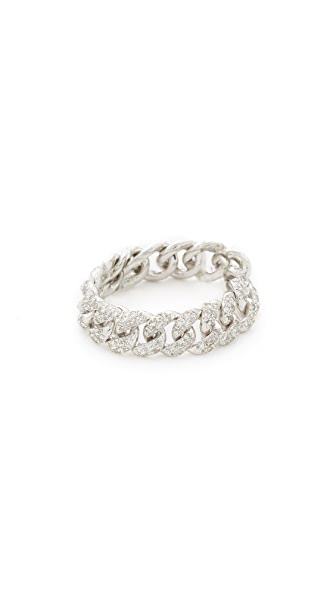 Shay Essential Link Ring - White Gold