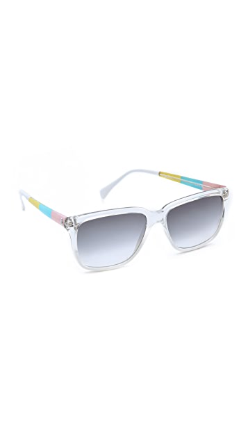 Sheriff&Cherry Pentacolor CMYK Sunglasses