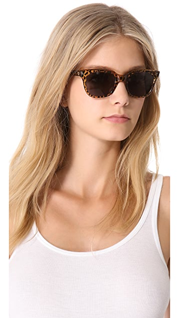 Sheriff&Cherry Classic Wild Cat Honey Sunglasses