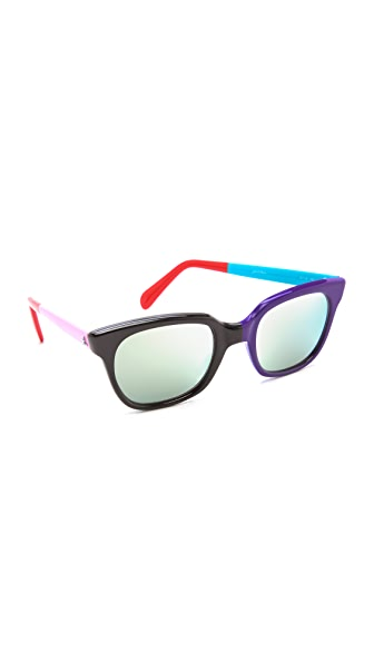 Sheriff&Cherry G11S Olympic Rock Mirrored Sunglasses