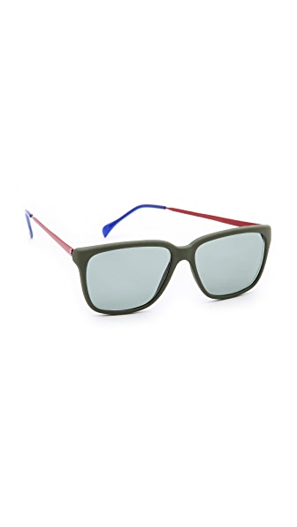 Sheriff&Cherry G12 Lux Mat Army Sunglasses