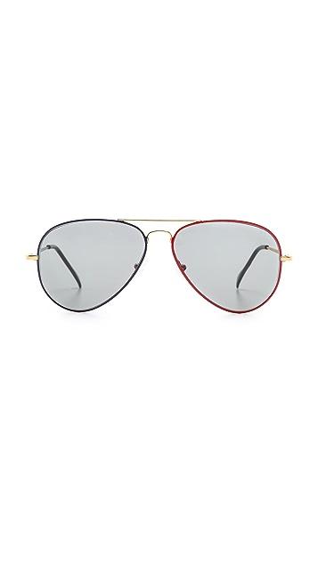 Sheriff&Cherry G0008 Aviator Olympic Sunglasses